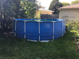 "16' x 52 "" above ground pool"