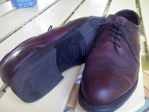 Size 12W Prospector Oxfords (Brown)