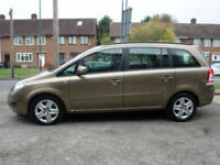 2014 Vauxhall Zafira 1.7CDTi 16v ecoFLEX 110ps Exclusiv 5DR 64REG Diesel Bronze