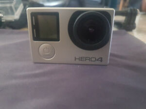 Go Pro Hero 4 Silver with touchscreen