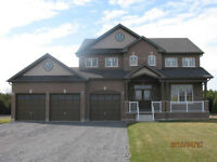 beautiful / new 2 storey home for sale in quaint Newtonville