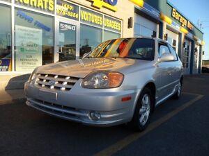 2003 Hyundai Accent GSi Coupé (2 portes)