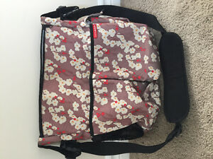 Skip Hop Diaper Bag - Cherry Blossoms
