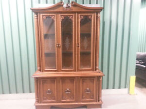 china cabinets, book shelves, wooden stands