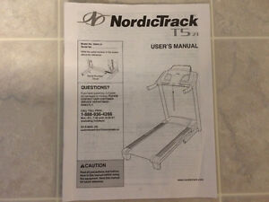 NordicTrack treadmill like new