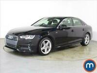 2018 Audi A4 1.4T FSI S Line 4dr [Leather-Alc] Saloon Petrol Manual