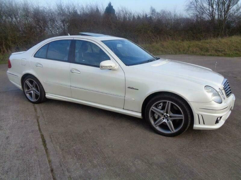2006 56 MERCEDES-BENZ E CLASS 6 2 E63 AMG G-TRONIC 4DR | in Lichfield,  Staffordshire | Gumtree