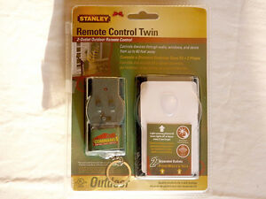 STANLEY Outdoor Remote Control Twin