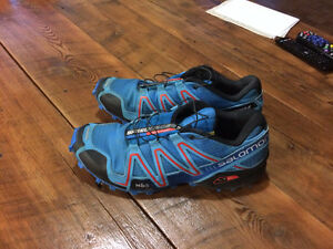 SOLD PPU - Saloman Speed Cross Trail Running Shoes