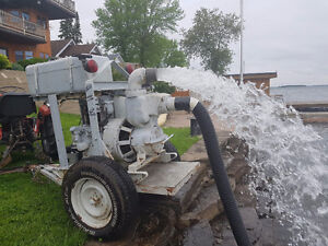 "4"" DIESEL INDUSTRIAL SELF PRIMING TRASH PUMP"