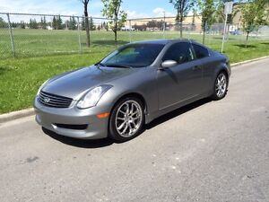 Infiniti G35 Coupe with Premium Sports Package