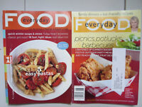 Collection of Martha Stewart Everyday Food Magazines