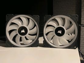 2x Corsair LL140 RGB Fans