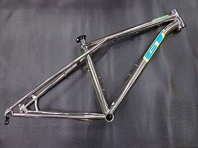 New GT Xizang Titanium Mountain Bicycle Frame, XSmall