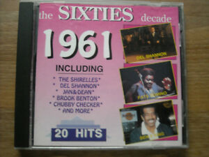 CDs Assorted Artists Original Songs from the 50s & 60s!
