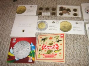 Canadian Mint Coin Sets + Silver Coins