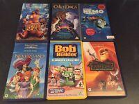 Children's Video titles