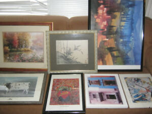 Collection of art/picture frames - $10