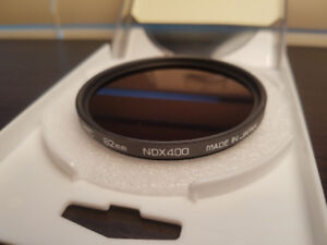 62mm Hoya 9-Stop ND Filter w/55-62mm step-up ring