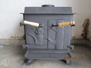 *EFFICIENT* Attractive Wood Stove w/ Blower