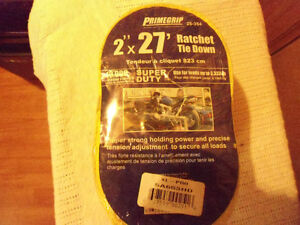 Primegrip Ratchet Tie Down 2 inch and 27 feet
