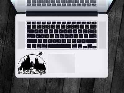 Harry Potter Sticker Disney Hogwarts Decal Apple MacBook iPad Laptop Car Window