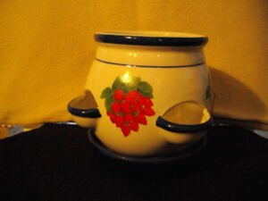 for sale: clay flower/herb pot
