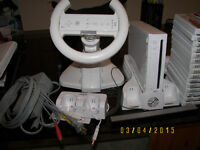 Price reduced - Nintendo Wii console, accesories and games