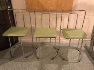 Retro Dining Chairs (3)