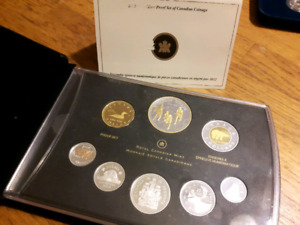 2012 silver proof set of war of 1812