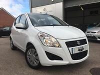 2013/63 Suzuki Splash 1.0 SZ2 5 Door Frozen White FULL S/HISTORY + £20 ROAD TAX!