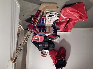 Goalie hockey gear