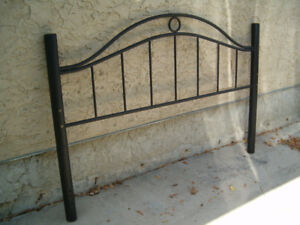King size Headboard and bed frame