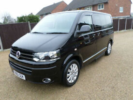 2012 (62) Volkswagen Caravelle Executive, 2.0TDi, Black, 140bhp, High Spec, WAV