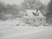 24 Hour Snow Shovelling Truro area only