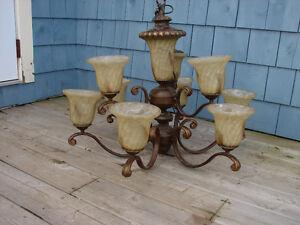 Fabulous new iron chandelier