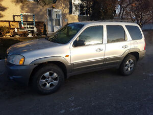 2001 Mazda Tribute SUV, Crossover