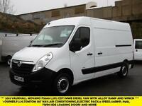 2013 VAUXHALL MOVANO F3500 L2H2 CDTI MWB 125PS DIESEL VAN WITH AIR CONDITIONING,