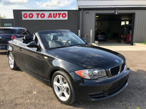 2008 BMW 1-Series 128i Convertible - leather, heated seats