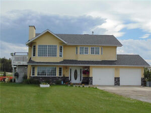 Acreage with 4 Bedroom Home, on east edge of Sundre