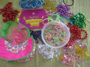 Girl's Play Jewellery , Necklaces, Bracelets, Booklet  for sale