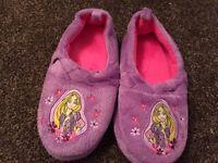 Girls Rapunzel Slippers size 11-12