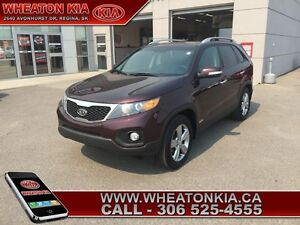 2012 Kia Sorento EX Luxury  - one owner - local - trade-in - Cer