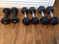 Weights - barely used