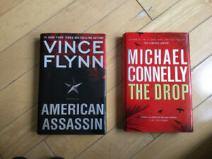 Brand New Hardcover Vince Flynn and Michael Connelly books