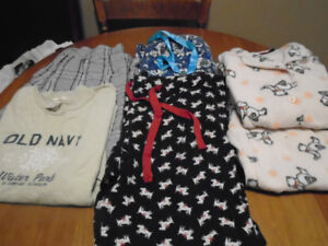 Ladies Pjs/ sleep pants and PJ set