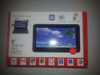 """NEW-PROSCAN-8GB-9""""-ANDROID-5.- INTERNET-TABLET-WITH-CASE-&-KEYBO"""