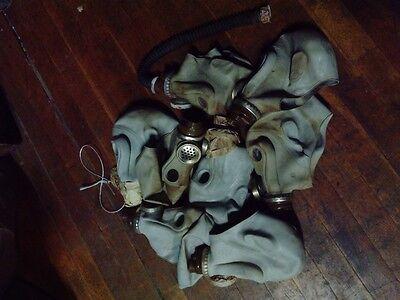 NVA / DDR Gasmaske Maske grau Affe gebraucht B + C Ware 8 Stück