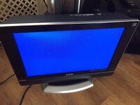 "19"" logik lcd HDMI scart ect no free view"