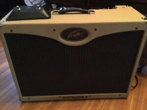 Peavey Classic 50 Tweed 2x12. Great shape with footswitch